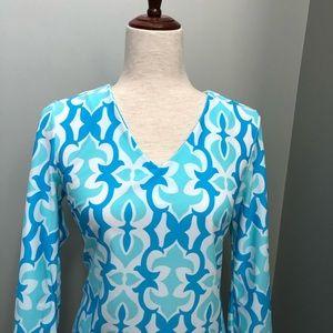 Jude Connally Dresses - NWT Jude Connally Lexi Geo Fleur Seafoam Dress